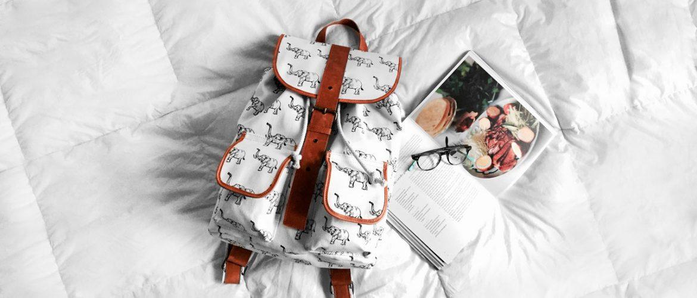 Lightweight bag for autumn